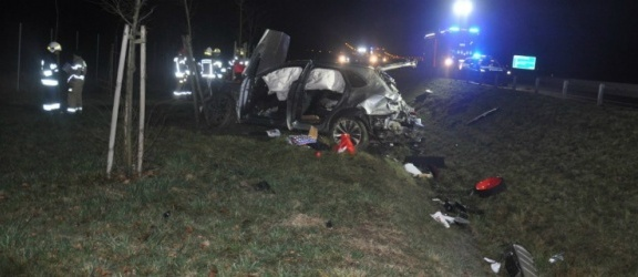 Zginął kierowca bentleya