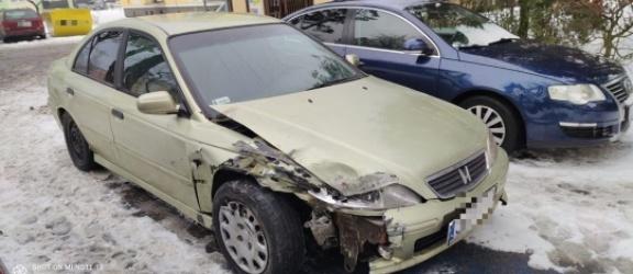 Elbląg: Uciekł po kolizji i ukrył auto na miejscu dla osoby niepełnosprawnej
