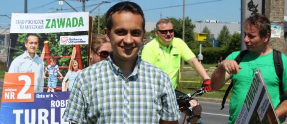 Robert Turlej wychodzi naprzeciw potrzebom rowerzystów