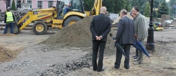 Prezydent Wilk i zastępcy wizytowali inwestycje drogowe