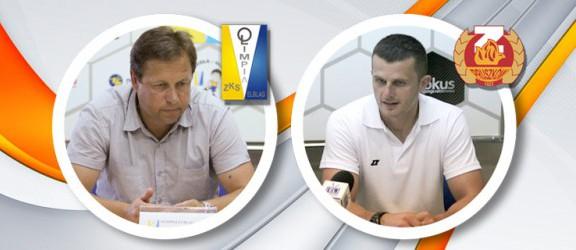 Opinie trenerów po meczu Olimpii oraz video z najciekawszymi akcjami