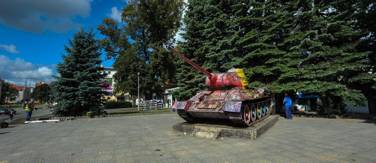 Pomnik Czołg w Elblągu