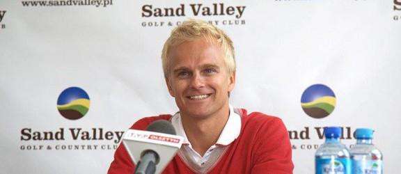 Heikki Kovalainen ponownie odwiedzi pole golfowe w Pasłęku