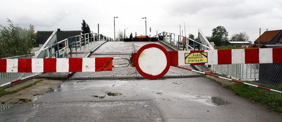 Most pontonowy w Nowakowie nieprzejezdny od przyszłego tygodnia
