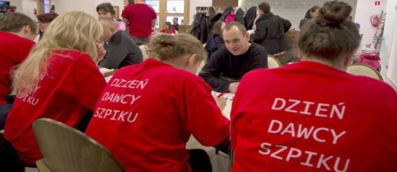 Dzień Dawcy Szpiku w Elblągu dedykowany jest Kamili i Tadkowi