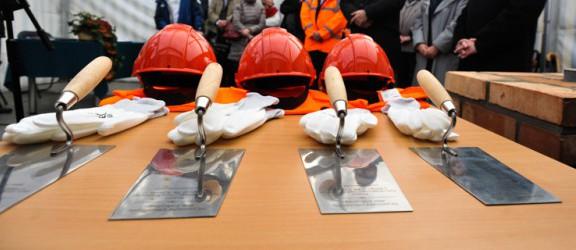 Minister Sprawiedliwości rozpoczął budowę nowego gmachu sądu