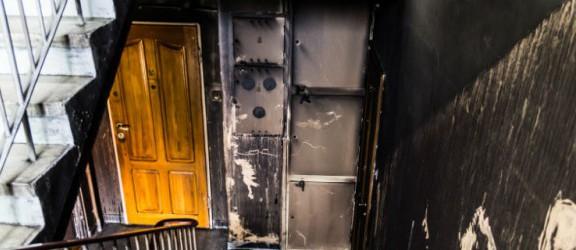Tragiczny pożar budynku. Jest zarzut dla sprawczyni