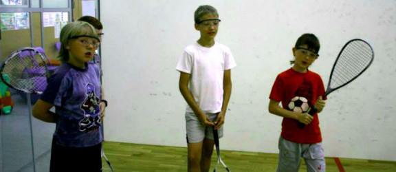 Pierwszy turniej squasha dla dzieci za nami. Zobacz kto zwyciężył