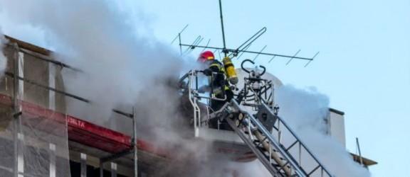 Pożar w Szkole Muzycznej. Sprawę badają biegli