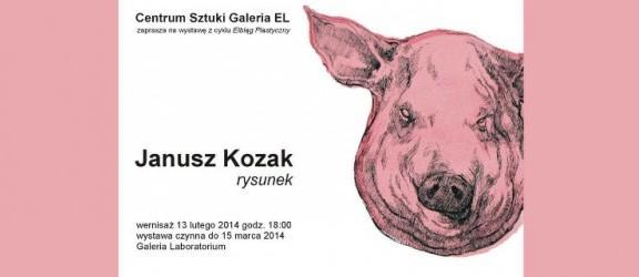 Elbląg Plastyczny: Janusz Kozak – rysunek w Galerii EL