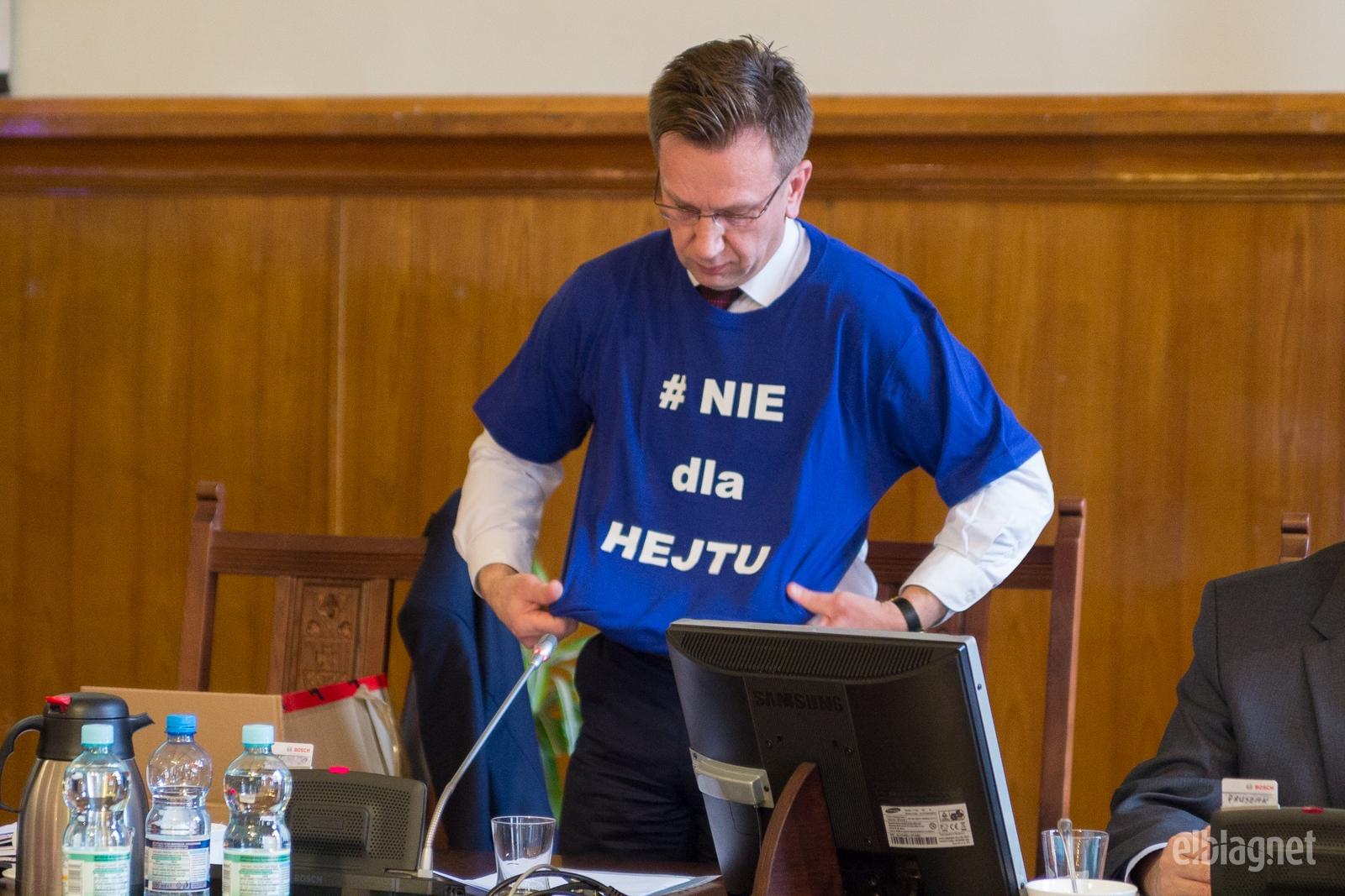 """Radny Wojciech Rudnicki zaapelował o """"politykę bez hejtu"""""""