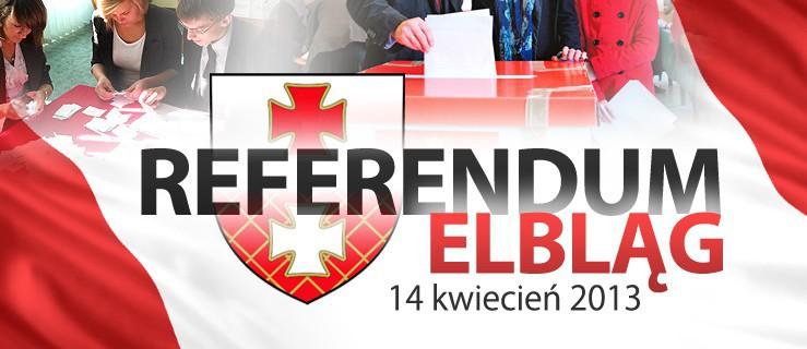 Znalezione obrazy dla zapytania referendum elblag